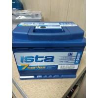 АКБ 2021г. ISTA 7 Series  6СТ-60 о.п. (R+) 600A  242x175x190