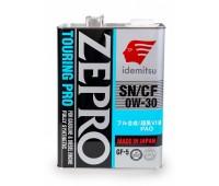IDEMITSU моторное синт. ZEPRO Touring Pro SN/CF GF-5  0W-30 (4л) ЯПОНИЯ