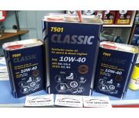 Mannol Classic 10w-40 (4л) SN/CF. +Ester! Новинка! Европа.