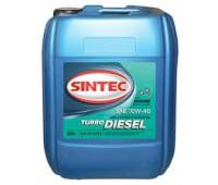 SINTEC 10W-40 TURBO Diesel CF4/SJ (20л) п/синт.