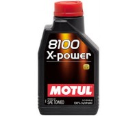 MOTUL 8100 X-POWER 10W60  A3/B4, SN/CF (1л)