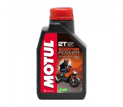 Масло MOTUL 2Т мото синт Scooter Power TC, L-EGD, FC /1L/ NEW!